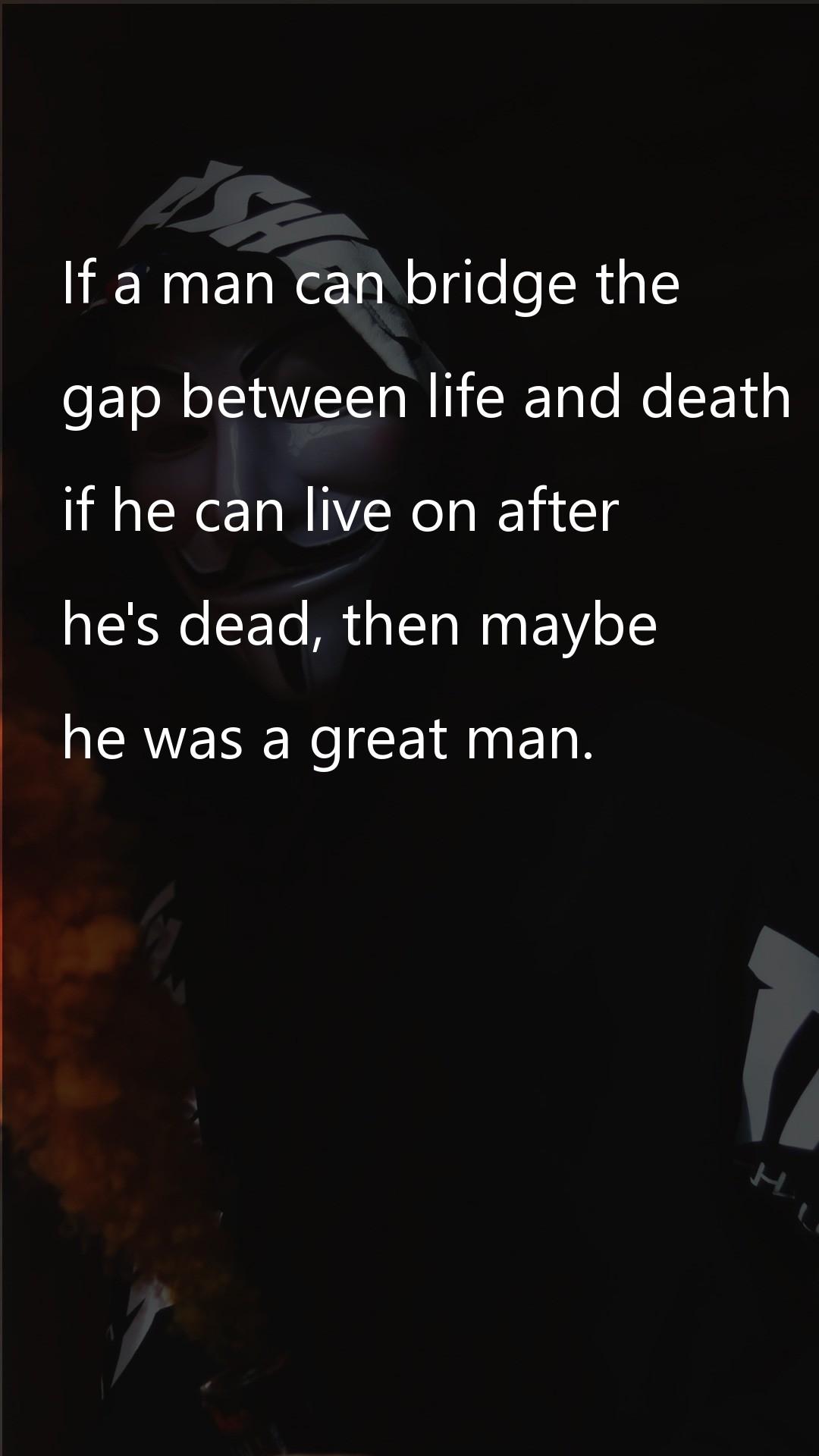 If a man can bridge the